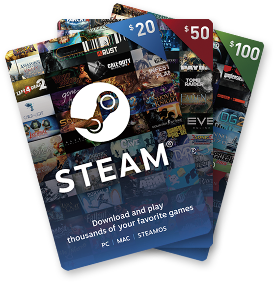 Steam Karte Code.Digital Gift Cards